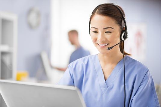 medical alert operator