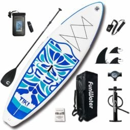 FunWater Inflatable 10'6×33″×6″ Ultra-Light  Paddle Board