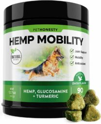 PetHonesty Hemp Hip & Joint Supplement for Dogs