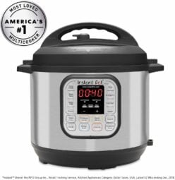 Instant Pot DUO60 6 Qt 7-in-1 Multi-Use Programmable Pressure Cooker