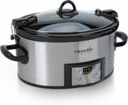 Crock-Pot SCCPVL610-S-A 6-Quart Cook & Carry Programmable Slow Cooker