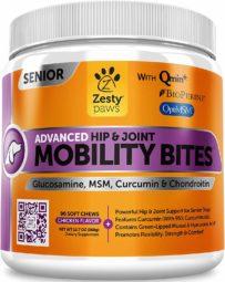 Zesty Paws Senior Advanced Glucosamine for Dogs