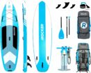iROCKER Cruiser Inflatable Stand Up Paddle Board logo