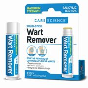 Care Science Wart Remover Stick, Maximum Strength | for The Removal of Common & Plantar Warts