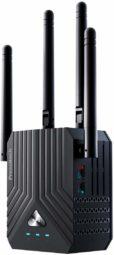 WiFi Range Extender, AC1200 Dual Band Mini WiFi Repeater