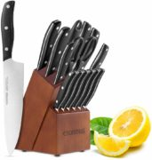 esonmus Kitchen Knife Set, 15-piece Knife Set
