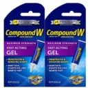 Compound W Fast Acting Gel | Salicylic Acid Wart Remover | 0.25 OZ | 2 Pack logo