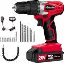 Avid Power 20V MAX Lithium Ion Cordless Drill logo