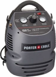 PORTER-CABLE CMB15 (1.5 Gallon) Oil-Free Fully Shrouded / Hand Carry Compressor Kit