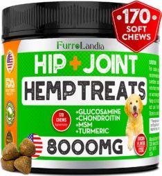FurroLandia Hemp Hip & Joint Supplement for Dogs
